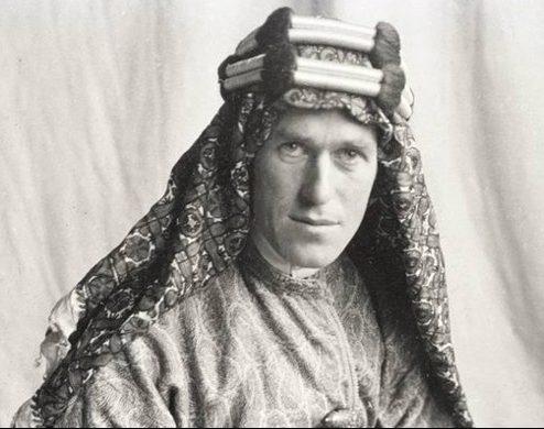 Man wearing arab robes